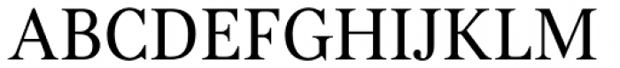 Kostic Serif Font UPPERCASE