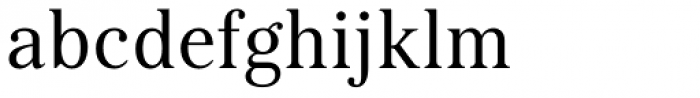 Kostic Serif Font LOWERCASE