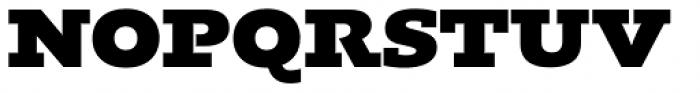 Kotto Slab Black Font UPPERCASE