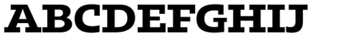 Kotto Slab Bold Font UPPERCASE