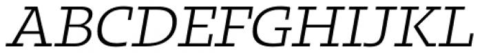 Kotto Slab Book Italic Font UPPERCASE