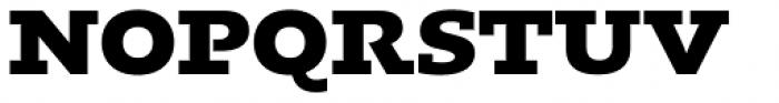 Kotto Slab Extra Bold Font UPPERCASE