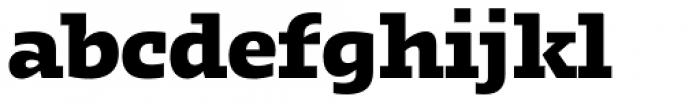 Kotto Slab Extra Bold Font LOWERCASE