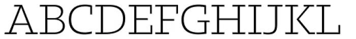 Kotto Slab Light Font UPPERCASE