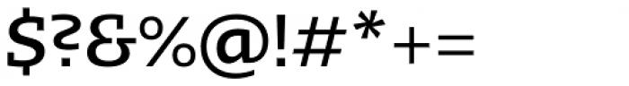 Kotto Slab Medium Font OTHER CHARS
