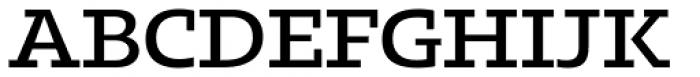 Kotto Slab Medium Font UPPERCASE