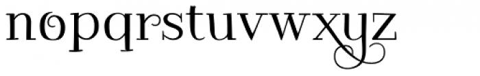 Kowalski2 C Font LOWERCASE