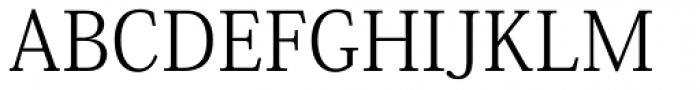 Kozuka Mincho Pr6N Light Font UPPERCASE