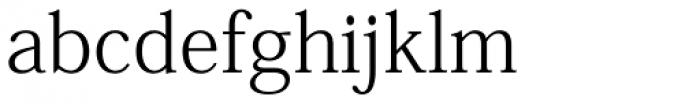 Kozuka Mincho Pr6N Light Font LOWERCASE