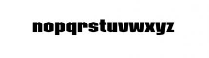 Kolinear Black Font LOWERCASE