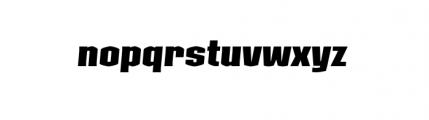 Kolinear BoldItalic Font LOWERCASE