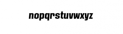 Kolinear Italic Font LOWERCASE