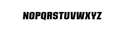 Kolinear MediumItalic Font UPPERCASE
