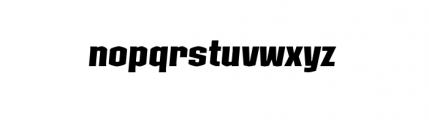 Kolinear MediumItalic Font LOWERCASE