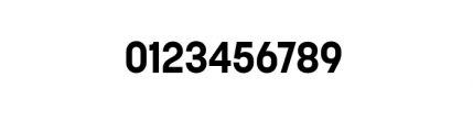Korolev Complete Bold Font OTHER CHARS