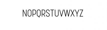 Korolev Complete Condensed Light Font UPPERCASE