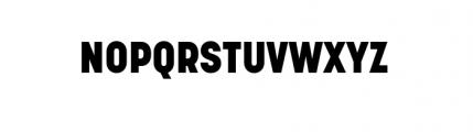 Korolev Complete Heavy Font UPPERCASE