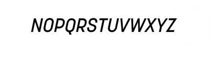 Korolev Complete Medium Italic Font UPPERCASE
