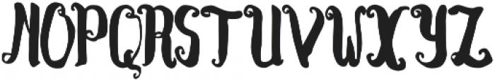 Kracktone otf (400) Font UPPERCASE