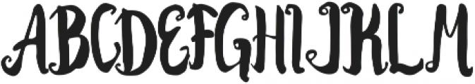 Kracktone ttf (400) Font UPPERCASE