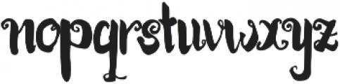 Kracktone ttf (400) Font LOWERCASE