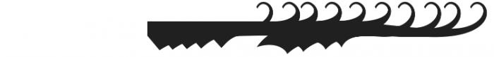 Krinkes Decor Swash otf (400) Font OTHER CHARS