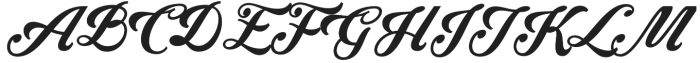 Krinkes Decor Swash otf (400) Font UPPERCASE