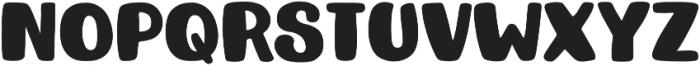 Kristof Block otf (400) Font UPPERCASE