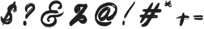 Kronos otf (400) Font OTHER CHARS