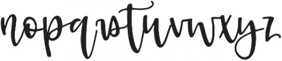 Kruse Calligraphy Regular otf (400) Font UPPERCASE