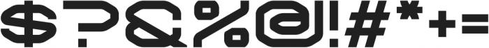 Krypto Regular otf (400) Font OTHER CHARS
