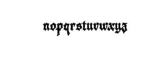 Krakato Fraktur.otf Font LOWERCASE