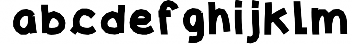 Kreativ Font Collection Bundle 2 Font LOWERCASE