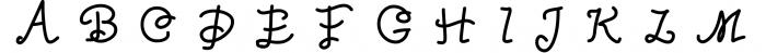Kreativ Font Collection Bundle 5 Font UPPERCASE