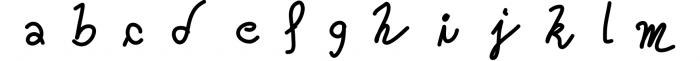 Kreativ Font Collection Bundle 5 Font LOWERCASE