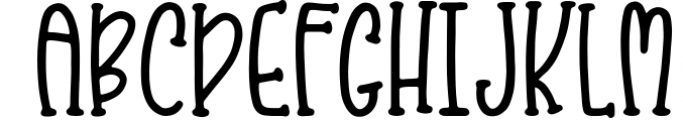Kristof Font Duo + Doodles! Font UPPERCASE