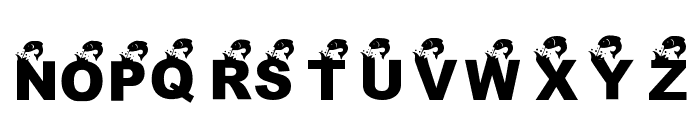 KR Angler Font UPPERCASE