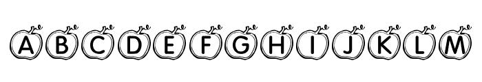 KR Apple Font LOWERCASE