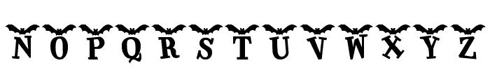 KR Batty Font LOWERCASE