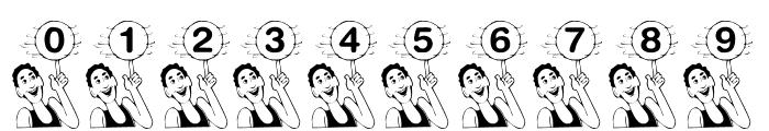 KR B'ball Font OTHER CHARS