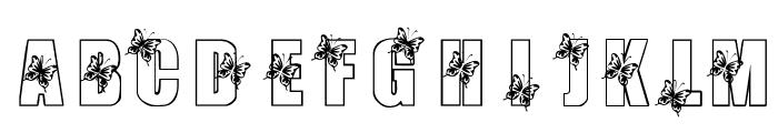 KR Butterfly 3 Font LOWERCASE