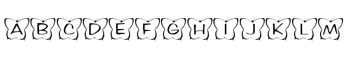 KR Butterfly Two Font LOWERCASE