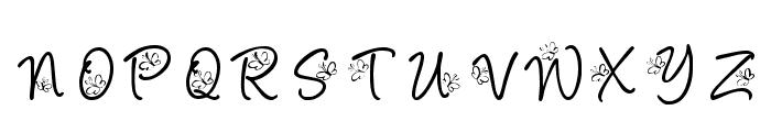 KR Butterfly Font LOWERCASE