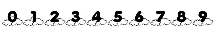 KR Cloud Nine Font OTHER CHARS