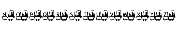 KR Construction Font UPPERCASE