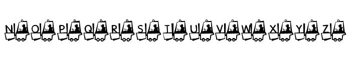 KR Construction Font LOWERCASE