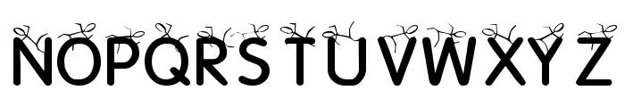 KR Crowd Surfer Font UPPERCASE