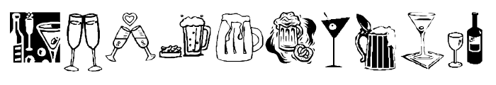 KR Drink Up! Font OTHER CHARS