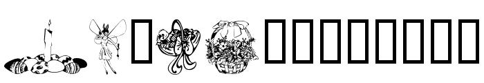 KR Easter 2002 Font LOWERCASE