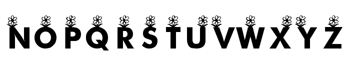 KR First Bloom Font LOWERCASE